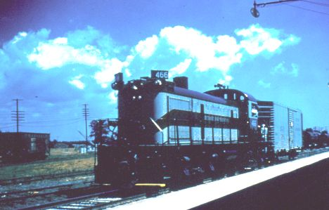DM 466 at Tawas Yard